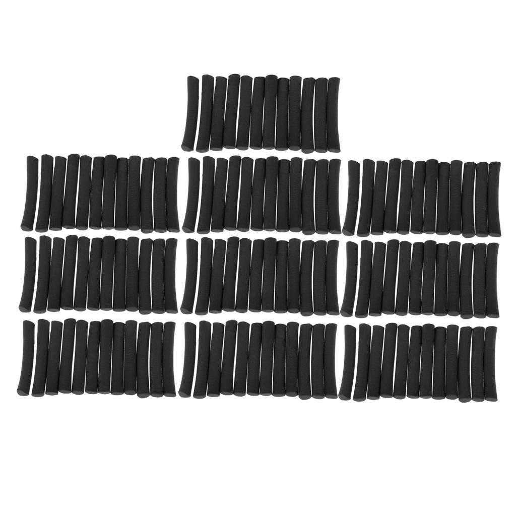 120 Pack Karpfenangeln Foam Stielzylinder Float machen Fliegenbinden Rig
