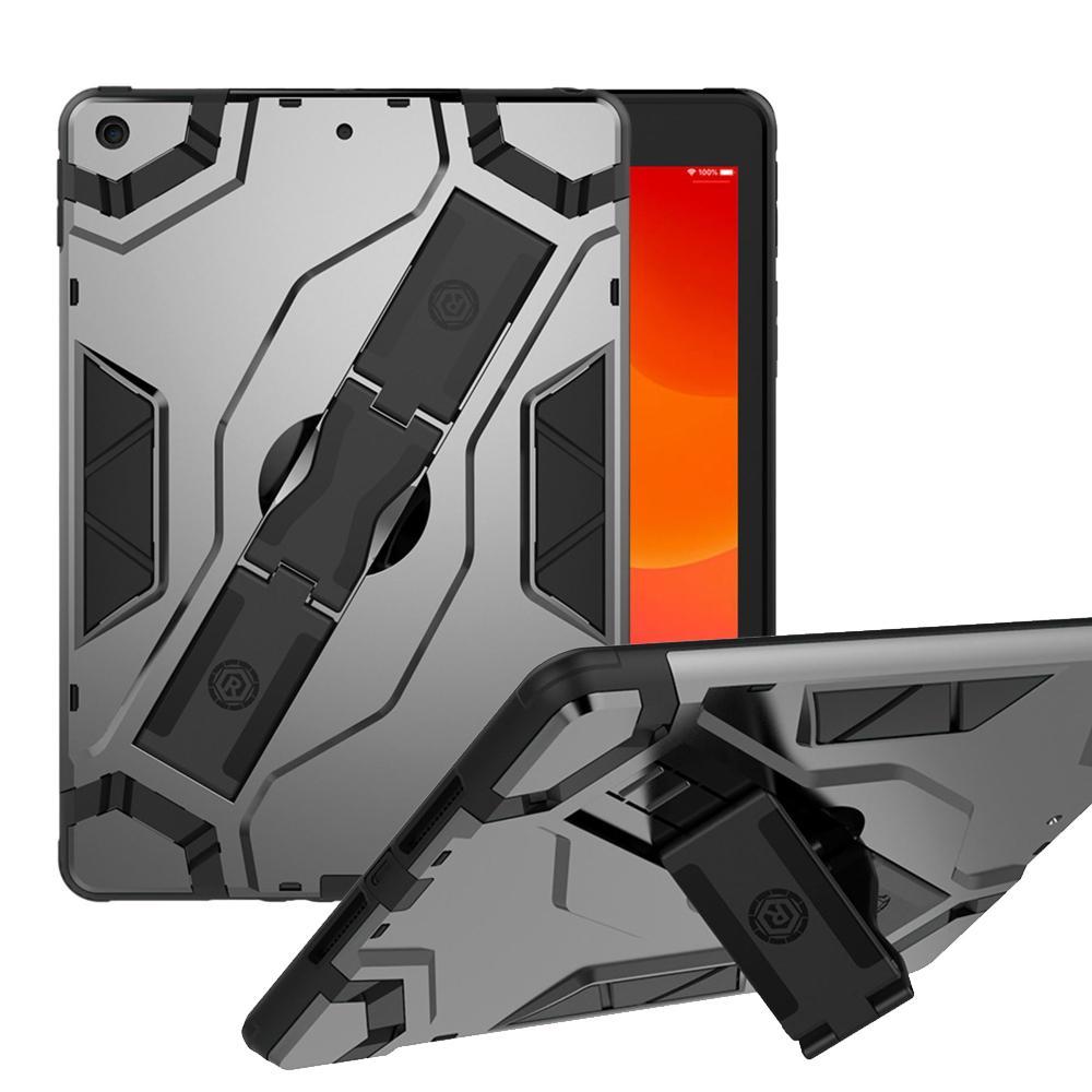 для iPad7 IPad 10,2 2019 9,7 Pro 11 AIR 2 mini45 T510 T307 P610 P200 T290 T387 Гибридные Прочная стойка крышки Броня ударопрочном корпусе ручной ремни
