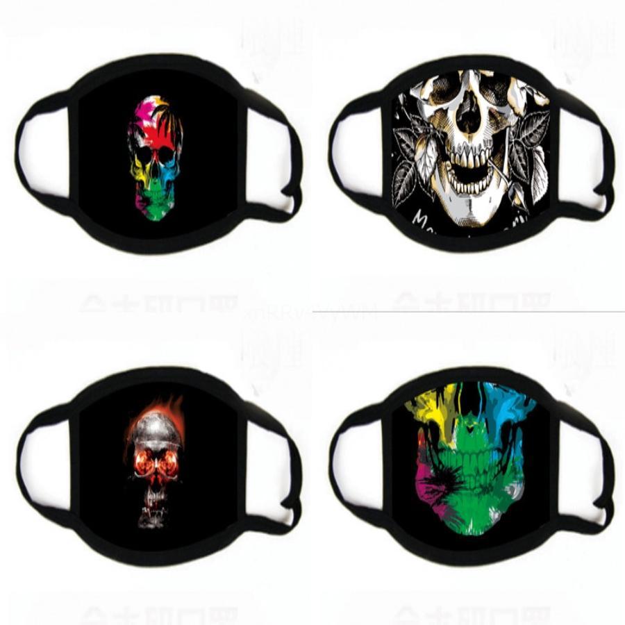 Lingling Máscaras Paillette Fa impresión máscara a prueba de polvo de Fasion Wasale para el salón, Ome Uso Reatale de Protección al Adulto máscara # 691