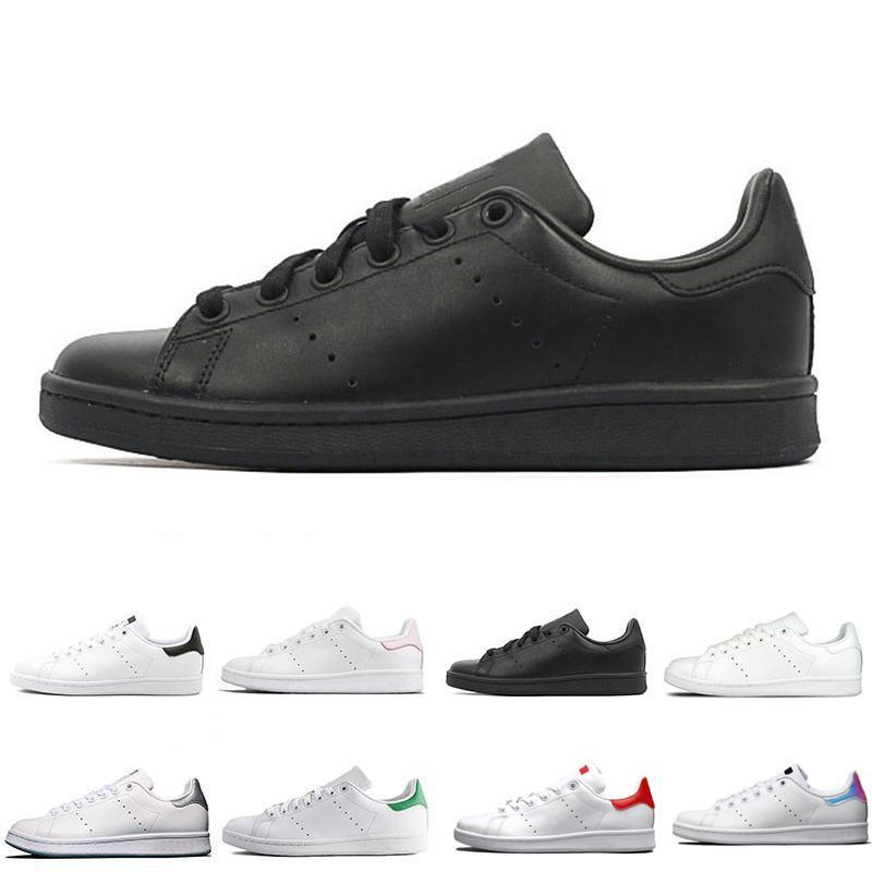 2020 Классический Стиль Стан мотыги Мужчины Женщины Повседневная обувь 36-44 Белый Musial Stan Smith Скейтборд обувь