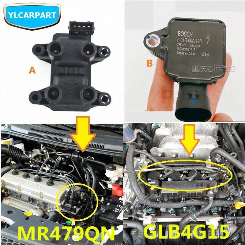 Para Geely GC6, SC6, Carro iginition motor de bobina Mu3U #