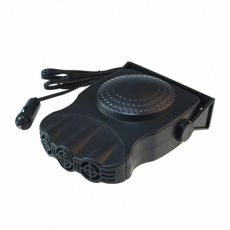 Plus récent protable Car Auto Chauffage Chauffage Ventilateur Fenêtre Pare-brise anti-buée Desfroster conduite anti-buée 12V 150W Dégivreur V2Op #