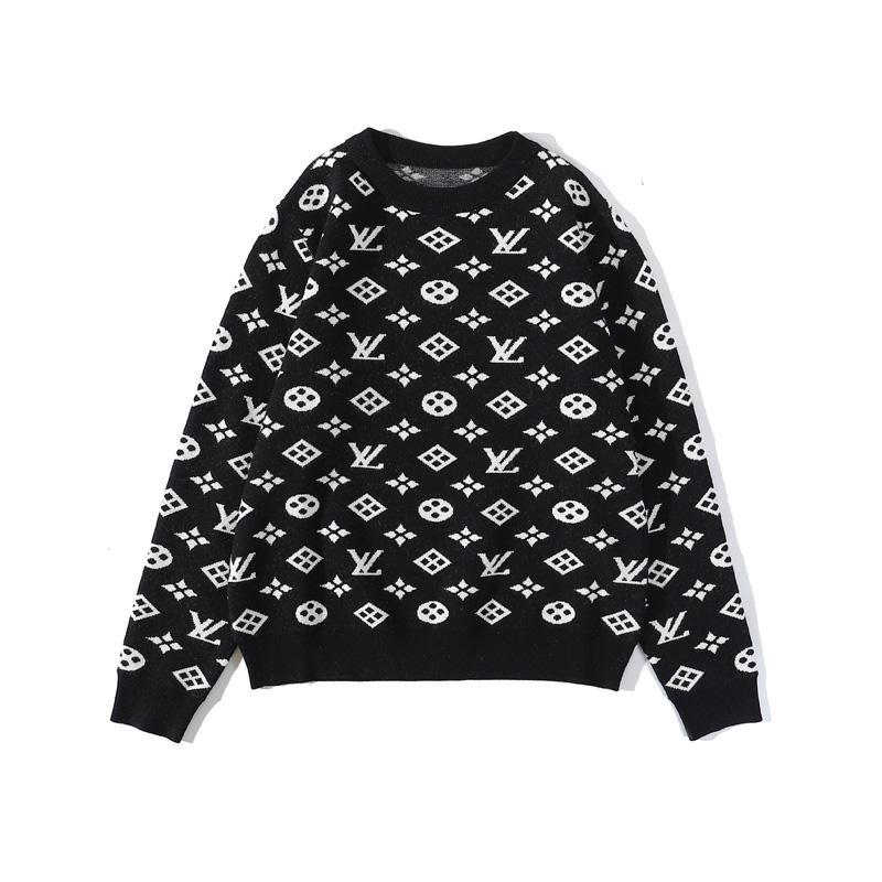 Männer Frauen Strickpullis Sweatshirts Herbst-Winter-starke warme Pullover mit langen Ärmeln Rollkragen Strick Designer-Pullover-Strickjacke
