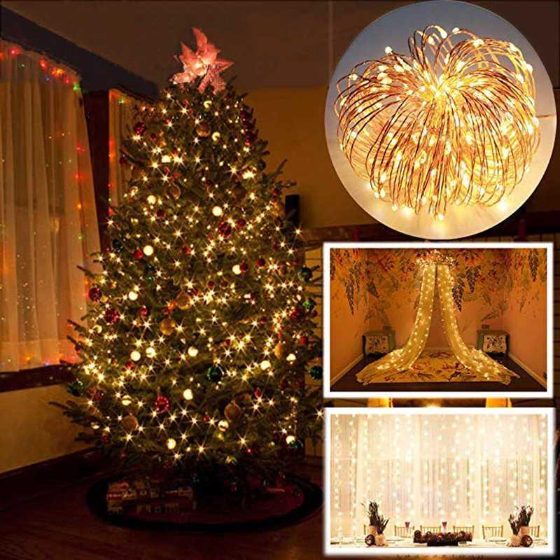 Festival Decoration LED String Lights Party New Year Xmas Wedding Free Shipping