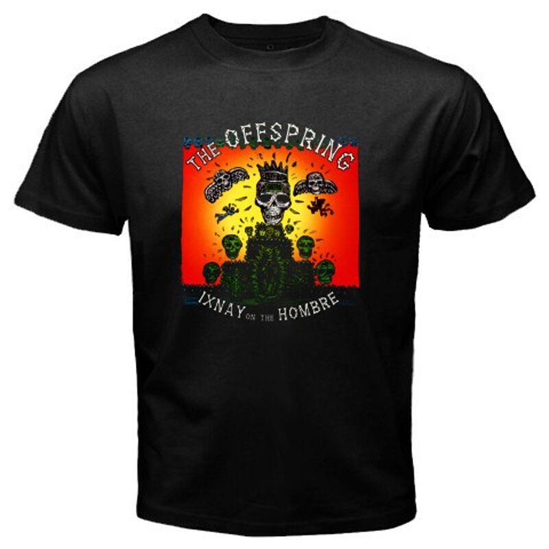 Nueva Ixnay la prole en El Hombre Rock Band Hombres de Negro de la camiseta del tamaño S-3XL