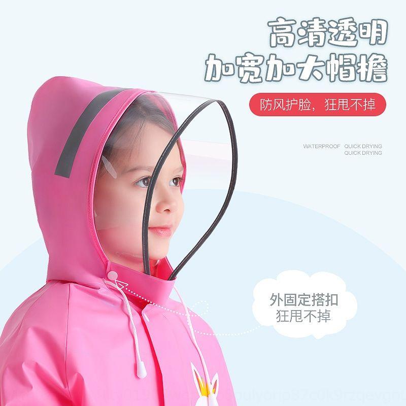 mqltb Утолщенной школы дождевик с учениками дождевика для мальчиков и девочек Schoolbag пончо Schoolbag для детей всего тела детского сада CHiL