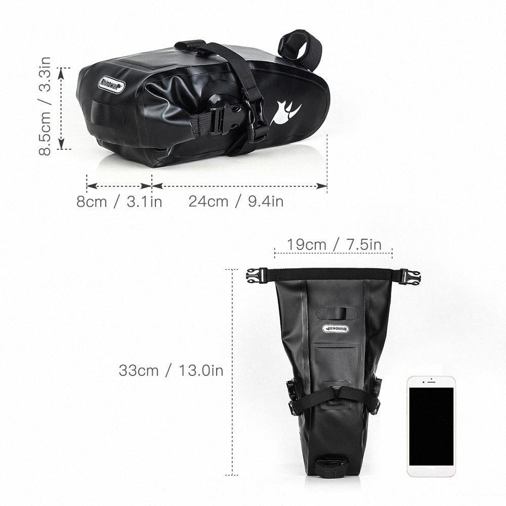 Full Waterproof Bicycle Bicycle Accessories Cycling Saddle Cycling Seat Bag MTB Road Bicycle Phone Holder Repair Tools Bag bisiklet ak urRx#