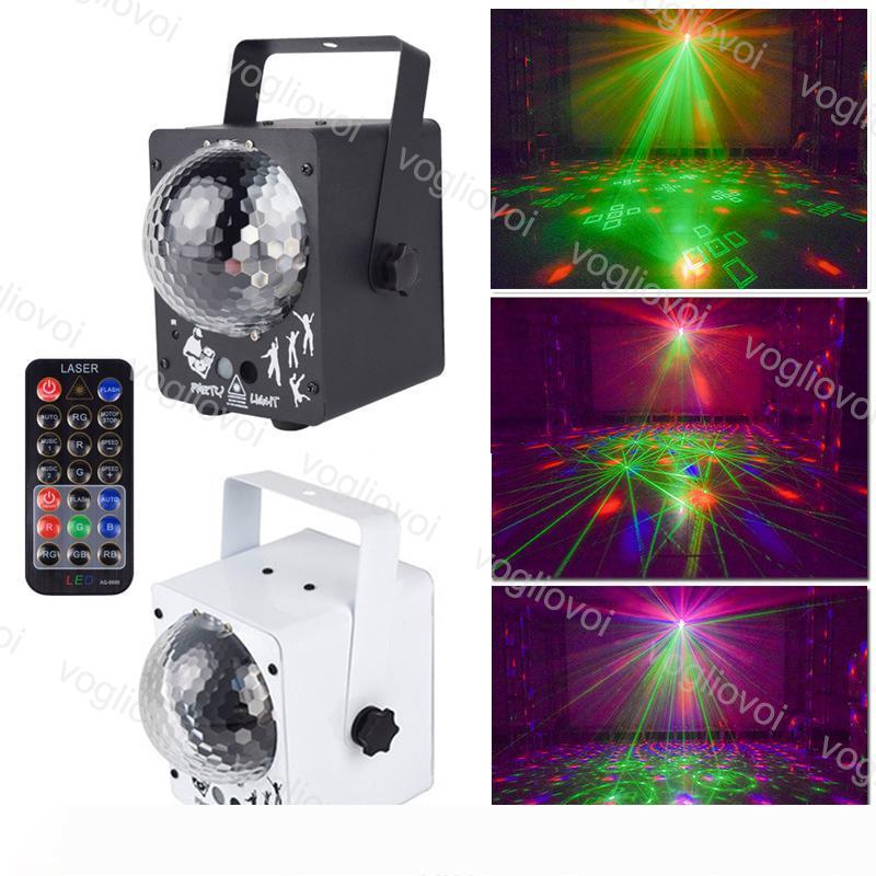 Lazer 60 Desen Sahne Aydınlatma Disco RGB Projektör Parti Işıklar DJ Aydınlatma Etkisi Home For Düğün DJ Ekipmanları DHL aydınlatma