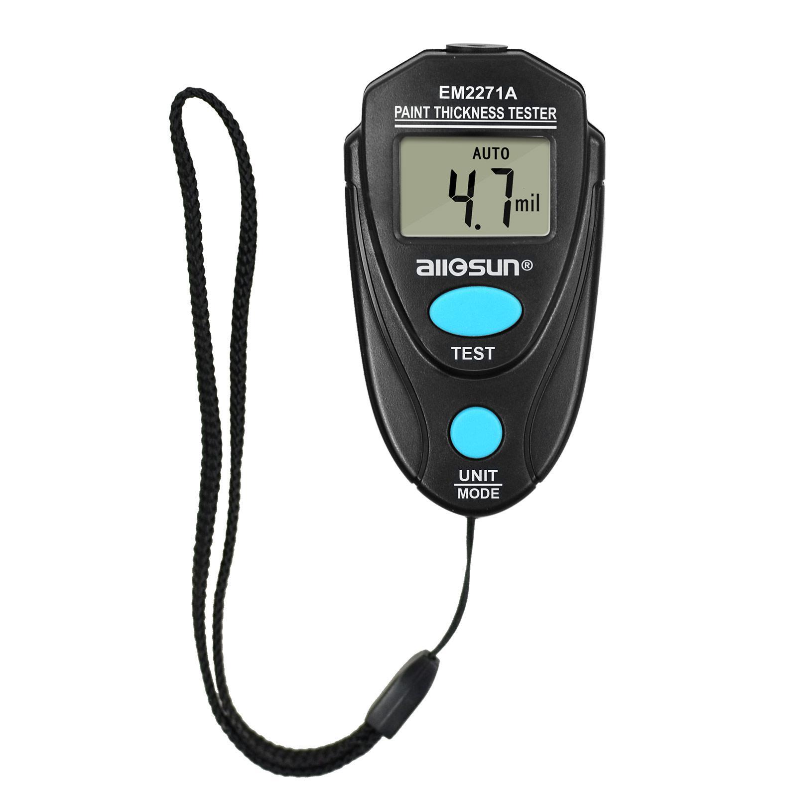 100 % 원래 모든-일 EM2271A 핸드 페인팅 두께 게이지 자동차 코팅 두께 측정기 휴대용 도구보다 나은의 em2271