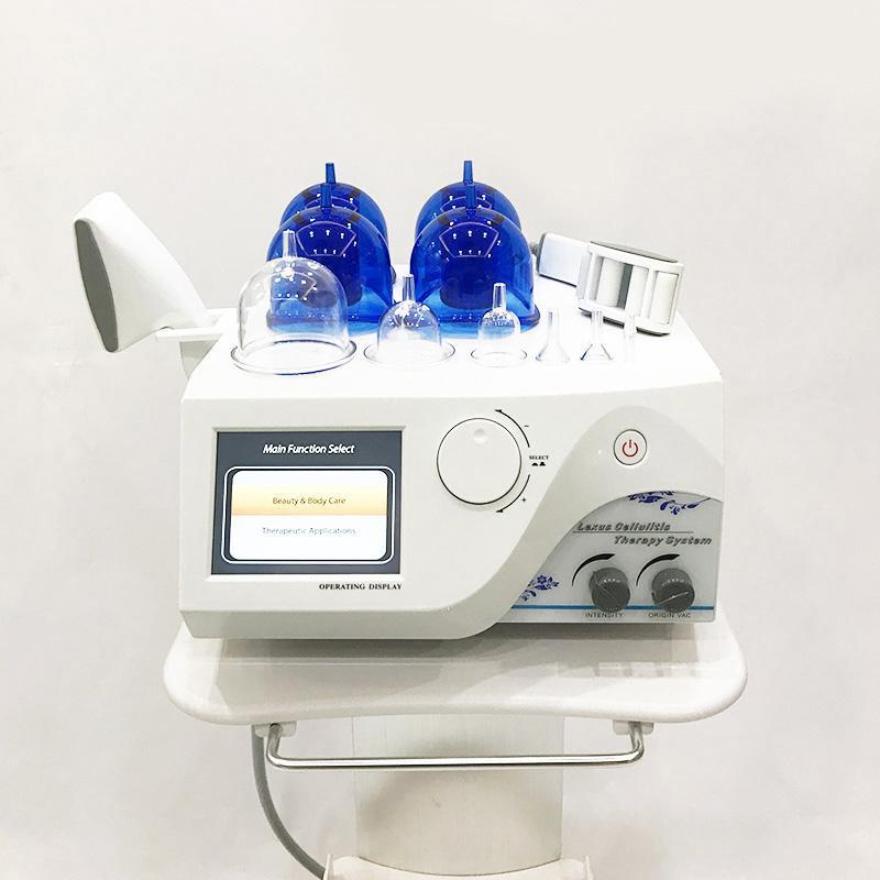 Vacío de la celulitis Tratamiento Starvac Sp2 terapia de ahuecamiento del rodillo del masaje de drenaje linfático cuerpo que forma adelgazar belleza máquina para el hogar