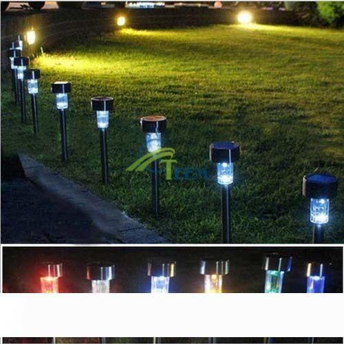 Solaire jardin pelouse lumières LED Grow lumière LED luminaires solaires de jardin extérieur Garden Party Lampe LED lumières décoratives 20