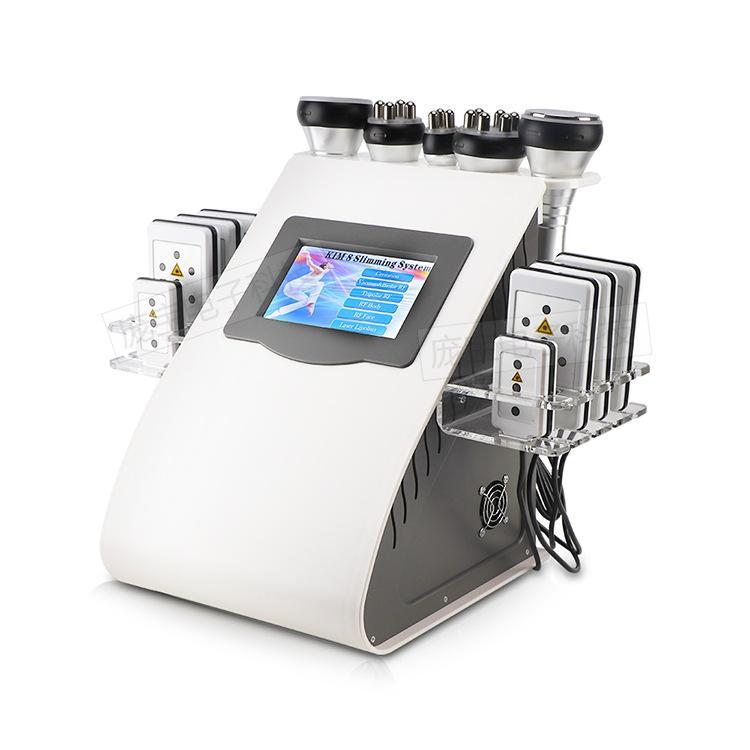 40k Ultraschallkavitation Maschine Ultraschallkavitationsmaschine Lipolaser 40k Körperabluftmaschine Cellulite-Entfernungsvorrichtung
