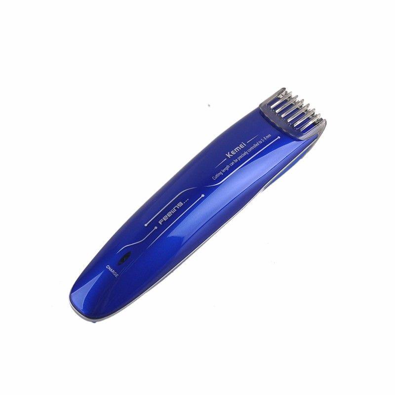KM-2013 barba de corte de cabelo aparador de maquina de Cortar o Cabelo Kemei trimmer micro barba bwkf VCIYE