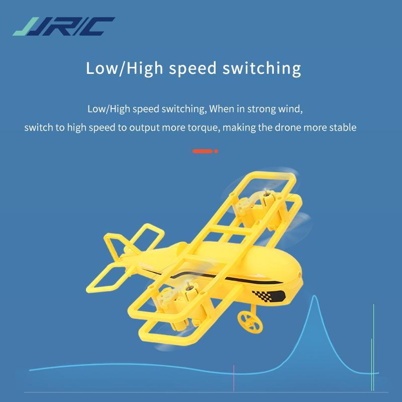 JJRC H95 2.4G Remote Control Mini Glider Toy, Altitude Hold, Adjustable Speed, 360° Flip, Headless Mode, Xmas Kid Birthday Boy Gift, USEU