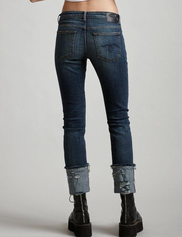 2020SS R13 Kadınlar Kadınlar için Ripped Kot Pantolon Pantolon Artı Boyutu Skinny Jeans Denim Erkek Arkadaşı Dantel Ince Streç Delik Kalem Pantolon Çanta