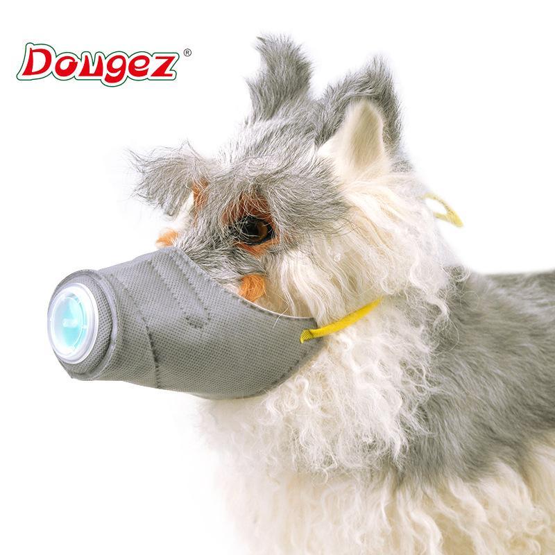 Pet épidémie Fournitures de prévention chien Masques poussière et Haze épidémie Masques de protection Couverture Dog Pet bouche Masques pour chiens Accessoires pour animaux