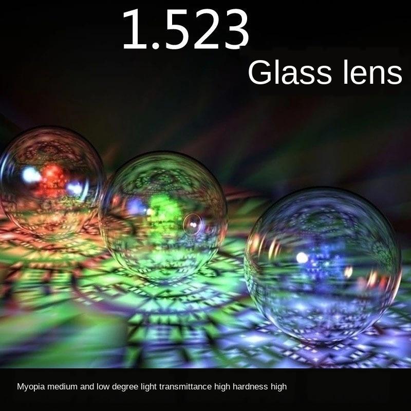 (Glass) 1.523 ultra thin glass Glasses lens White ultra medium myopia high light transmittance glass glasses YScoW