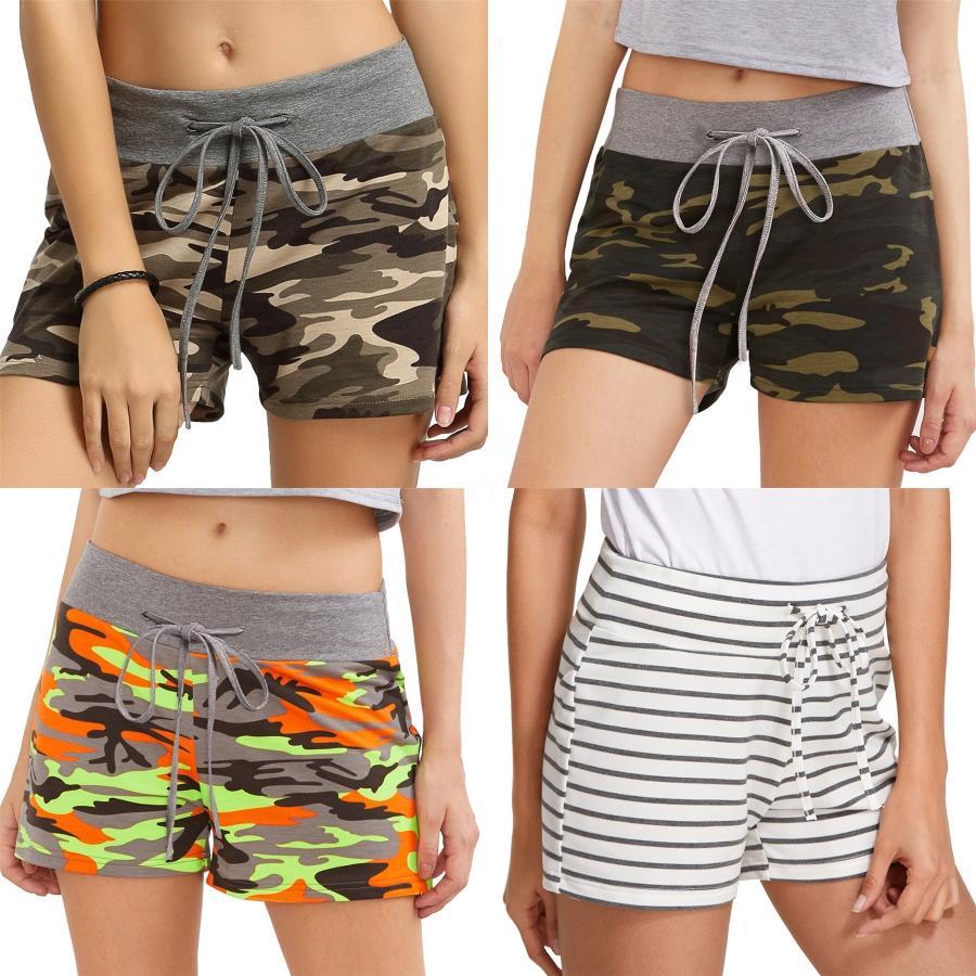High End Kadınlar Kız Casual Elastik Bel Desen Aplike Şort Harf Nakış Gevşek Dantel Kısa Pantolon 2020 Moda Tasarımı Kısa Pan # 4331