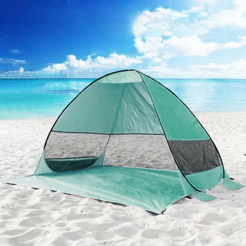 200 *165*130cm Anti UV Heave Up Tent Outdoor Automatic Instant Up Portable Beach Camping Fishing Shade Shelter Tent 708 7804#