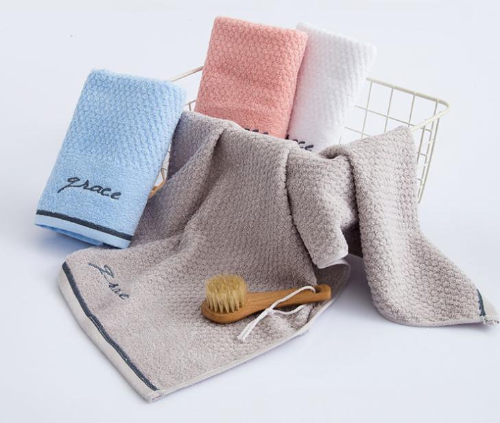 أحدث منشفة الحجم 68x34cm، مناشف غسل الوجه الناعم والقطن الناعم والمريح للرجال النساء، العديد من الأساليب للاختيار من بينها