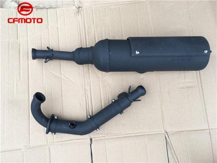 CFMOTO cf188 двигатель 500cc cf525 CF500-А CF625-3 X6 Z6 CF600 500cc 600cc ATV Глушитель трубы четырехъядерных выхлопной трубы Oth0 #