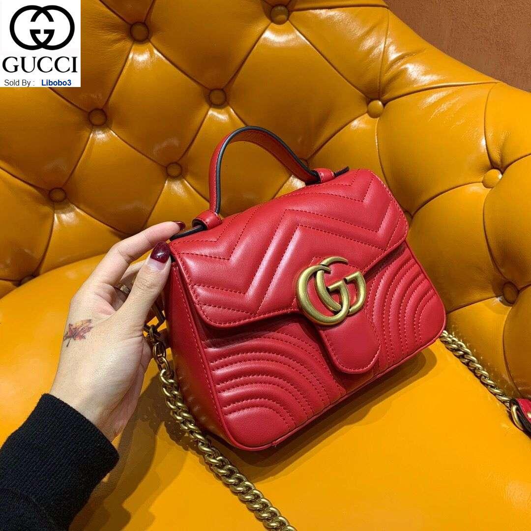 libobo3 547260 série Marmont vermelhas mini-saco do mensageiro móvel Mulheres Bolsas Bolsas Top Alças Shoulder Bags Cruz Evening Totes saco de corpo
