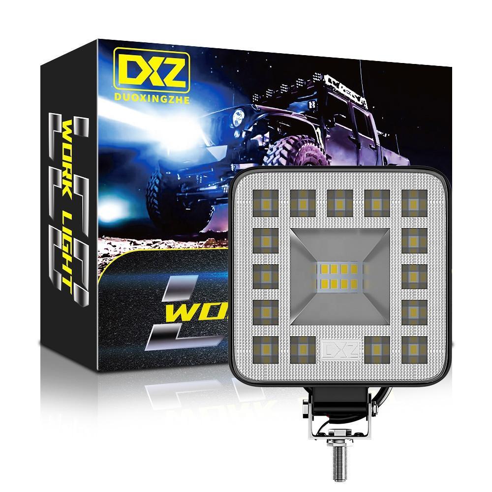 WINSUN 3INCH البسيطة 23LED الفيضانات بقعة ضوء الطرق الوعرة الخفيفة لتعليم قيادة السيارات مع الضباب LED ضوء العمل رافعة شوكية ATV UTV SUV قارب شاحنة 12V-24V