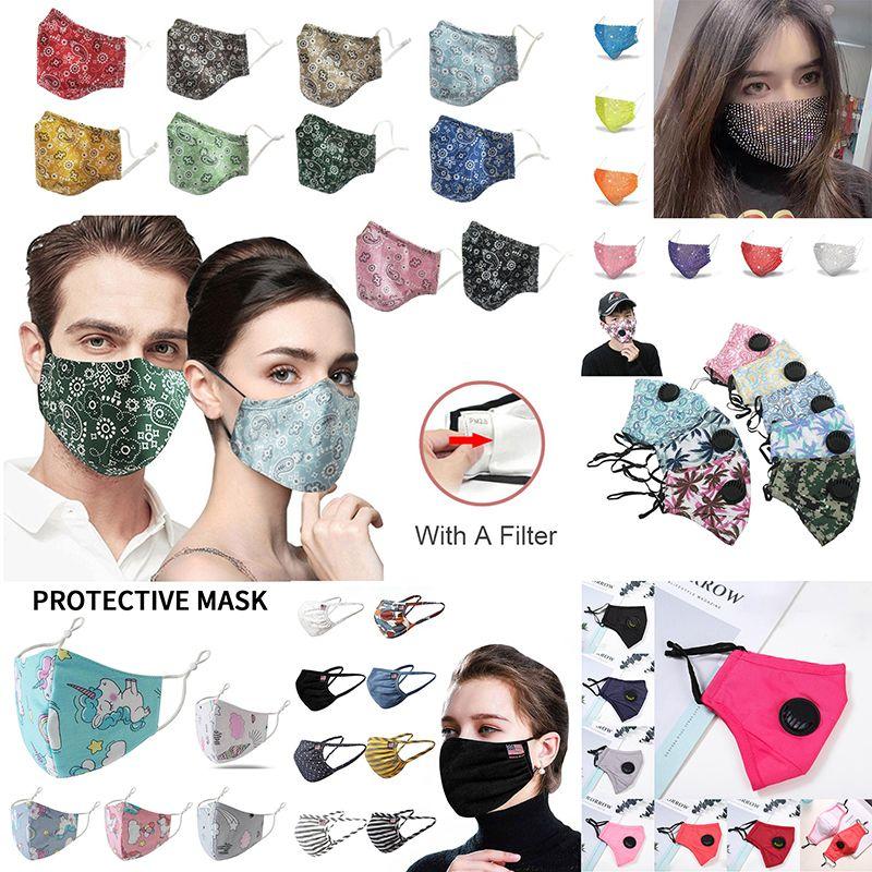 Tasarımcı Yüz Maskeleri Toz Maske Karşıtı grip Partikül Maske Koruyucu Maskeler Emniyet PM2.5 toz geçirmez moda yüz maskesi