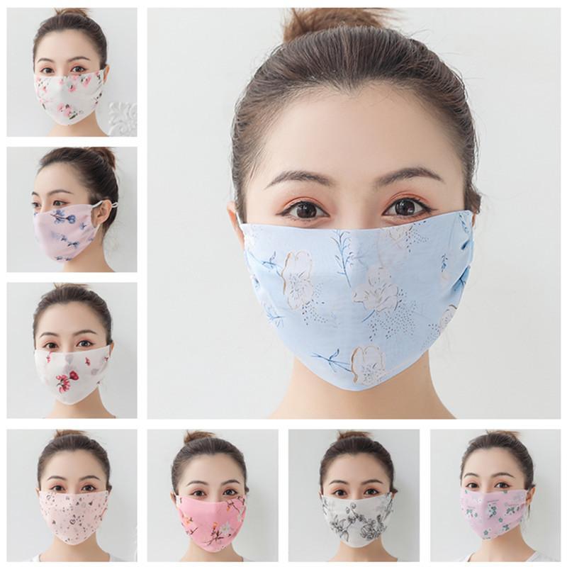 Femmes Foulard Visage Masque d'été en mousseline de soie Mouchoir extérieur Cyclisme coupe-vent demi-visage Masques anti-poussière Pare-soleil anti-UV Face Shield INS