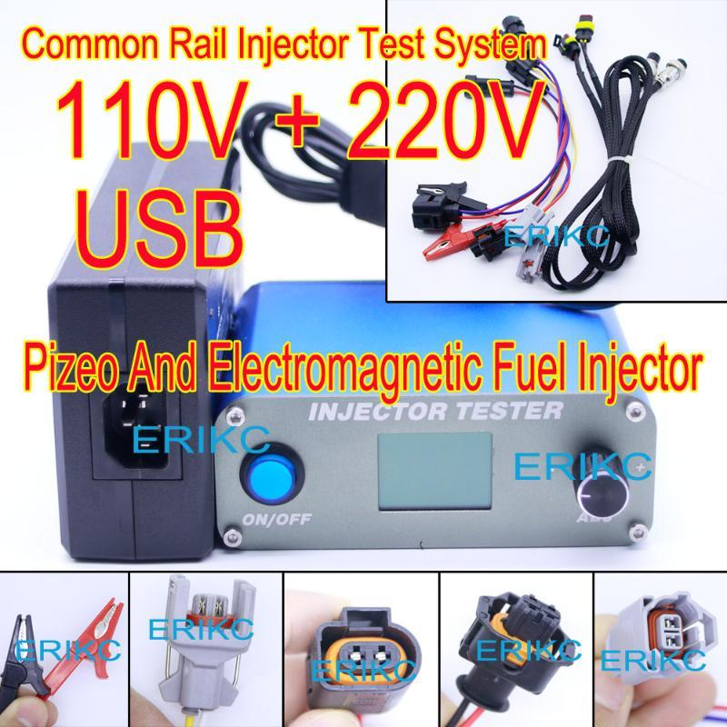 ERIKC High Precision Common-Rail-Injektor-Tester Tools für die Prüfung von Piezo-Kraftstoff Gelegentlich Schiene Inejction Düse