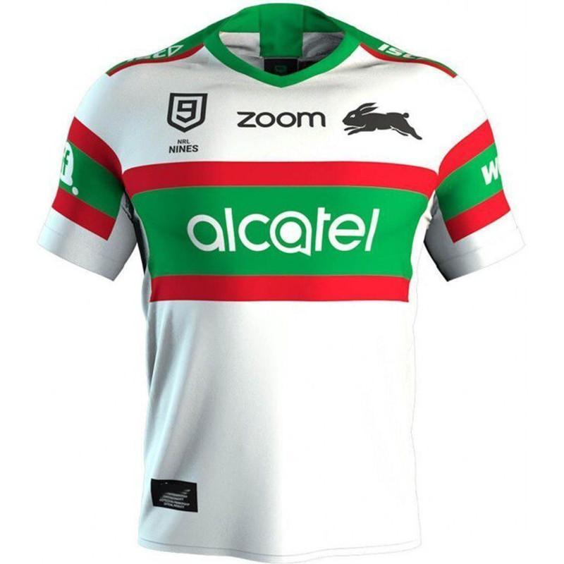 2020 South Sydney Rabbitohs 9s Home Jersey size S-M-L-XL-XXL-3XL-4XL-5XL