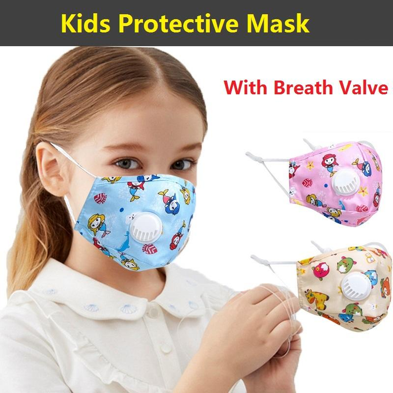 Parti Anime Sevimli Ayı Yetişkin Çocuk Eğlence Fantezi Gürdeniz Yüz Ağız Kül Yeniden kullanılabilir Toz Windproof Pamuk Mavi 100pcs Maske Isınma Maskesi