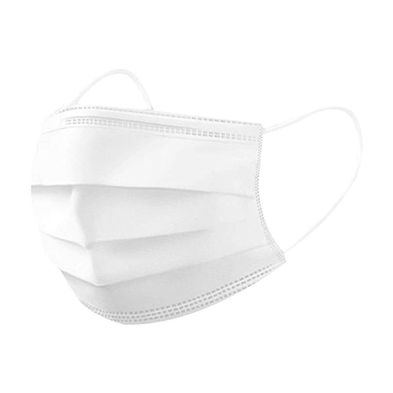 Couche de poussière adulte 3 chilidren jetables DHL visage masque de visage 3-plumes couvre-bouche pour enfants BDSNB masques gratuits masques Balck vrteb nclkt