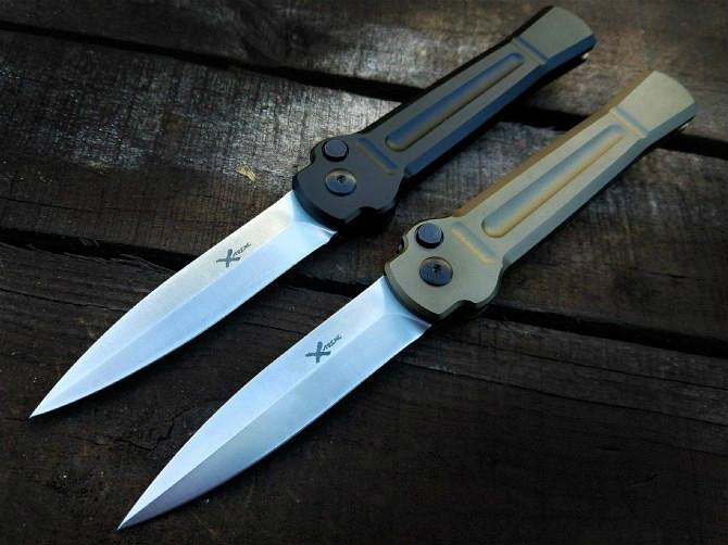 X-treme treme X faca abrindo AUS-8 única ação autodefesa dobrável presente tático EDC bolso faca de acampamento faca de caça facas xmas