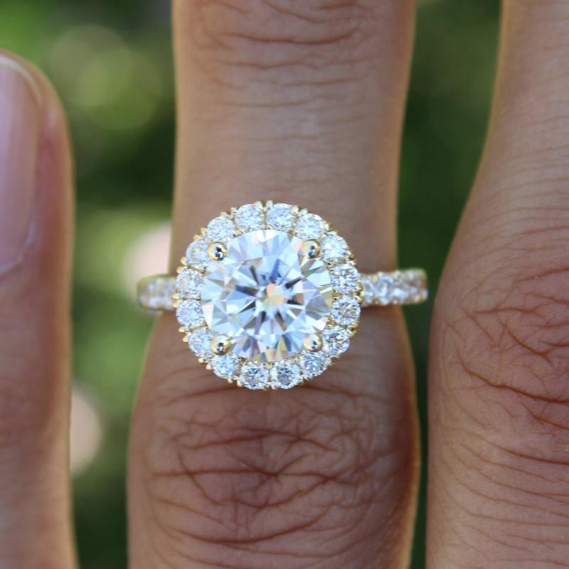 마음을 다이아몬드 박힌 및 시뮬레이션 다이아몬드 반지 925 스털링 실버 골드 도금 참여 손가락 링크의 날 선물 화살표