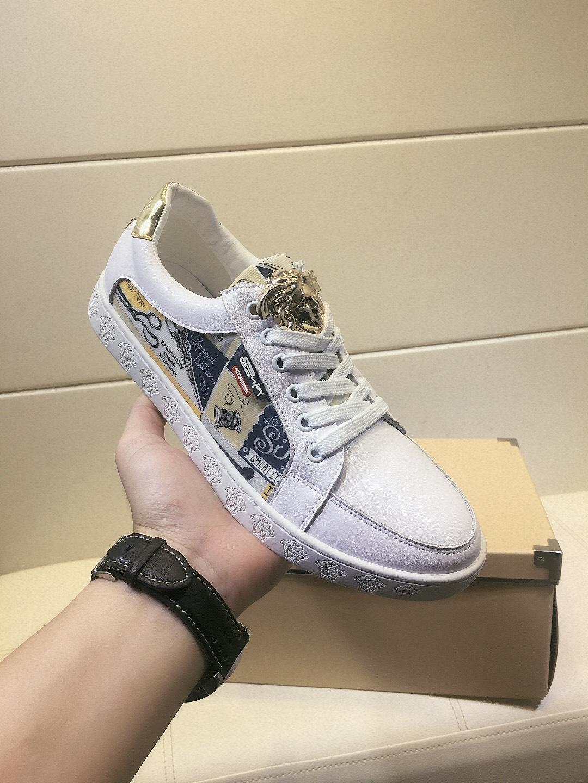 2020-2019l лето новый лидирующий бренд мужской кожи комфортно низким верхом повседневная обувь, мода диких личности спортивная обувь, размер: 38-44
