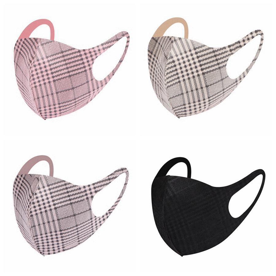 4 colori Designer Maschera per il viso maschere per adulti Moda anti polvere viso protezione solare traspirante lavabile Mask RRA3324