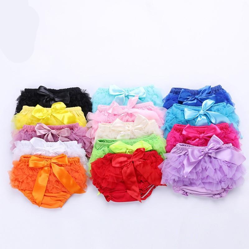 프릴이 아기 의류 바지 코튼 소프트 아기 소녀 드레스 반바지 스커트 팬티 어린이 드레스 바지 아동 유아 속옷 (11) 8ty의 C2