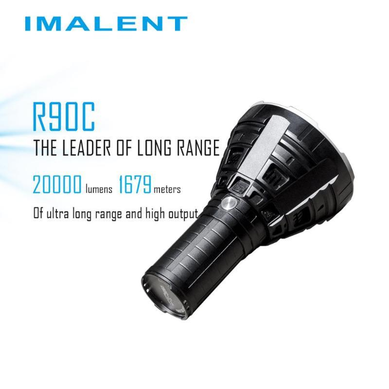 IMALENT R90C 20000Lumens Waterproof led Cree XHP 35HI outdoor rescue light rechargeable Torch