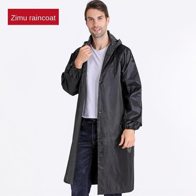 ZZJF5 yetişkin tek parça anti-isyan açık yağmurluk Cloak rüzgarlık emek Orta uzunlukta koruma yağmurluk panço rüzgarlık uzun kalınlaşmış