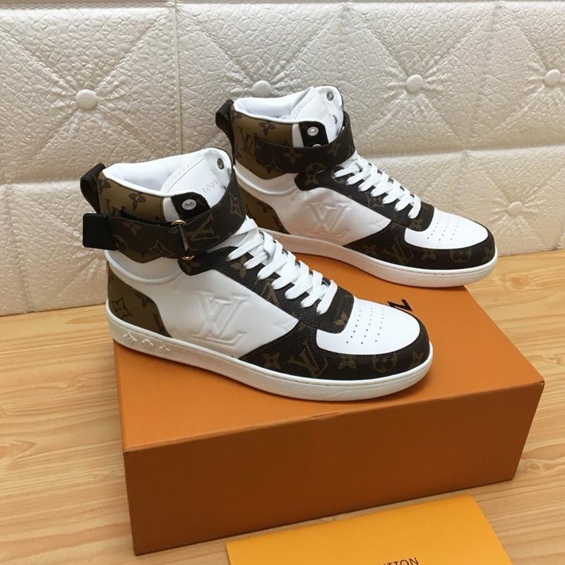 0152 chaussures de sport pour hommes de haute qualité et de luxe décontractée design en plein air chaussures de sport, la taille de la boîte d'origine est 38-45.