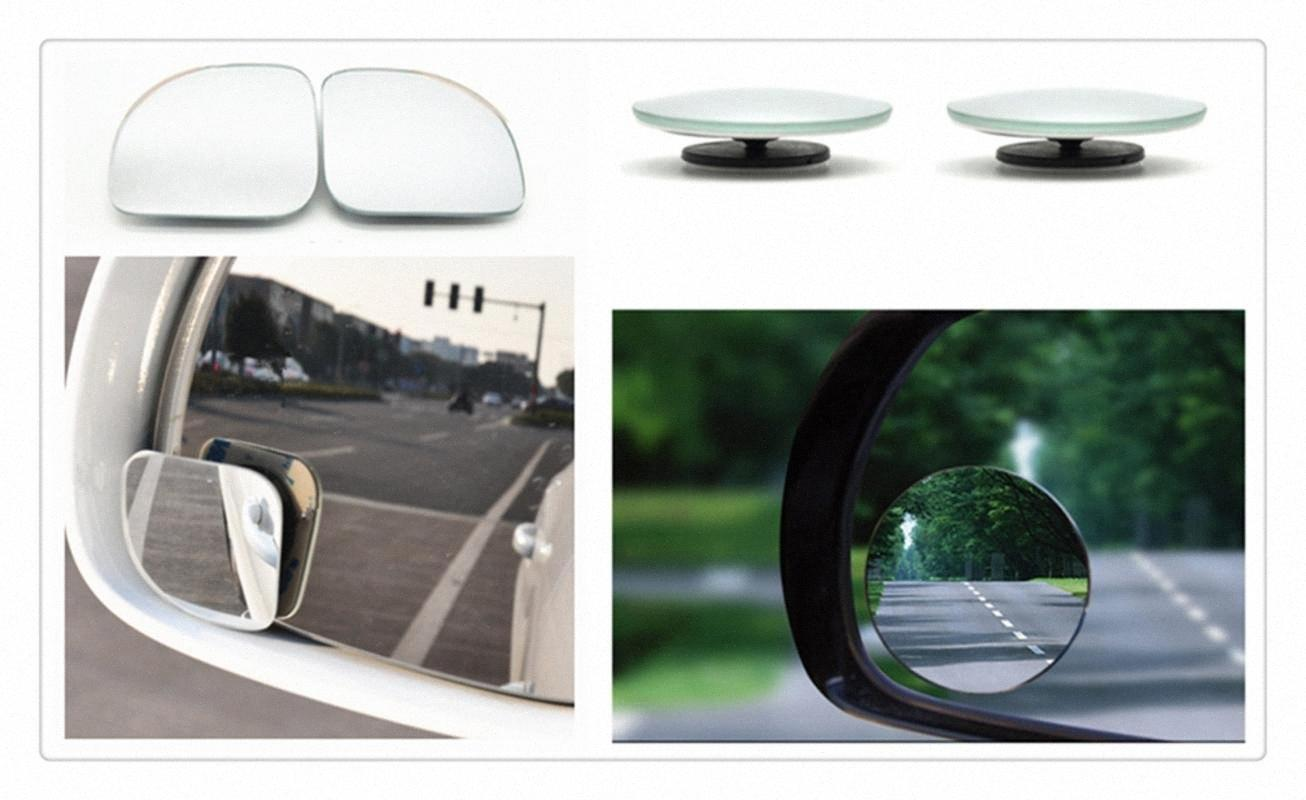 Auto Parts Small Round Mirror Car Rearview Mirror Blind Spot Wide Angle Lens For Taurus Mondeo Galaxy Falcon Everest wJg2#