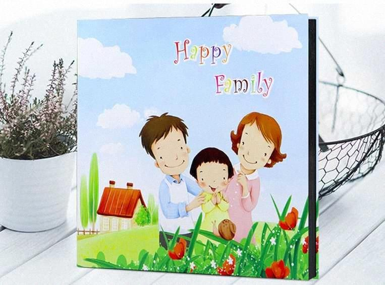 Big Capcity 18 inch Photo Baby Family Scrapbook Beautiful Arts High Quality Handmade DIY Birthday Gift 19 uapv#