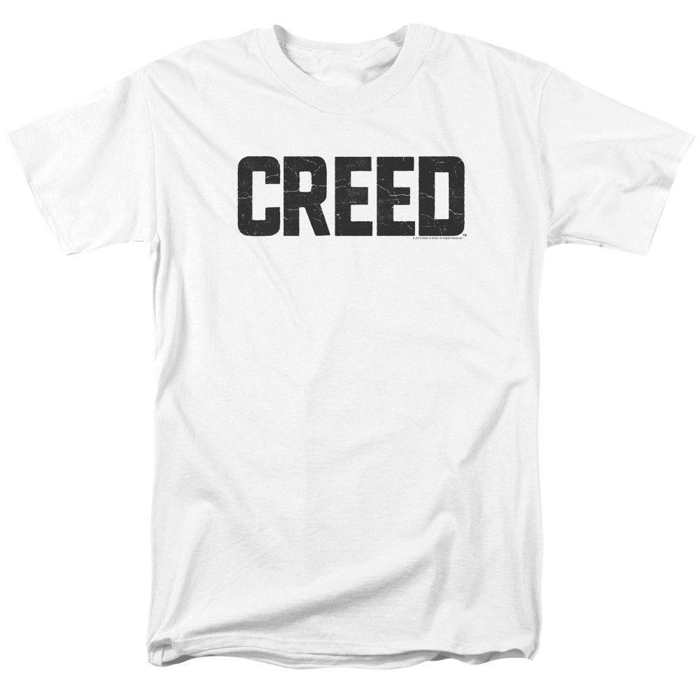 Creed Film Çatlak Logo Rocky Yetişkin Tişörtlü ücretsiz gönderim tişört Casual gurur t gömlek erkekler Unisex Yeni Moda Soğuk Lisanslı