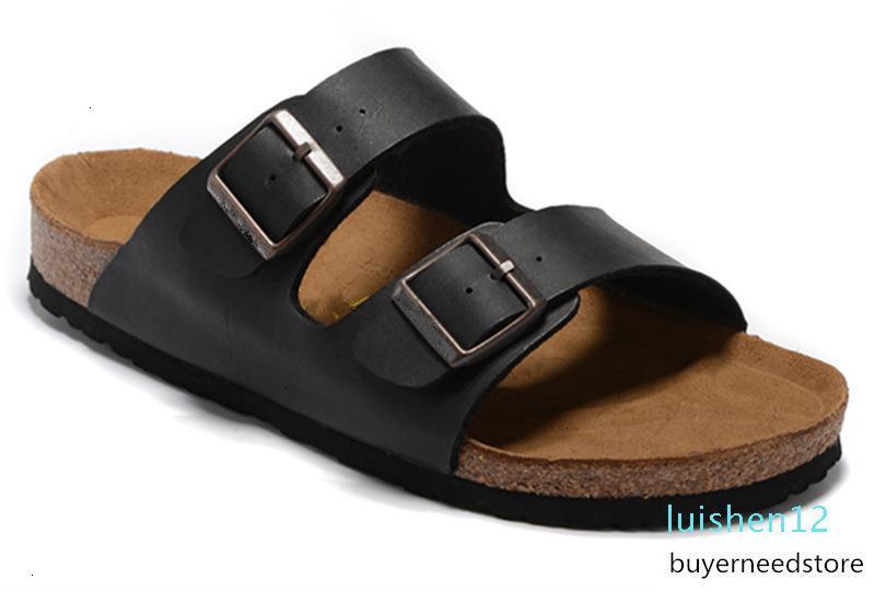 Arizona Yaz Plaj Mantar Terlik Terlikler Sandalet Kadınlar Karışık Renkli Günlük Ayakkabılar Düz 34-46WE05