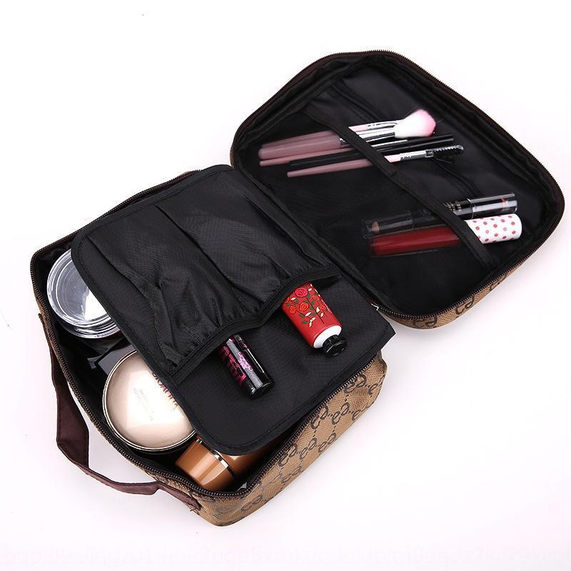 stile coreano nuovo ricamo bag multi-funzionale cosmetico stoccaggio gioielli viaggio gioielli grande capacità borsa da viaggio di lavaggio impermeabile