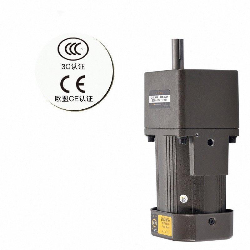 Редукторный двигатель регулирования скорости двигателя Однофазный 220 Первый выбор для сертификации точности приводов CE экспортируется в Европейский vkEn #