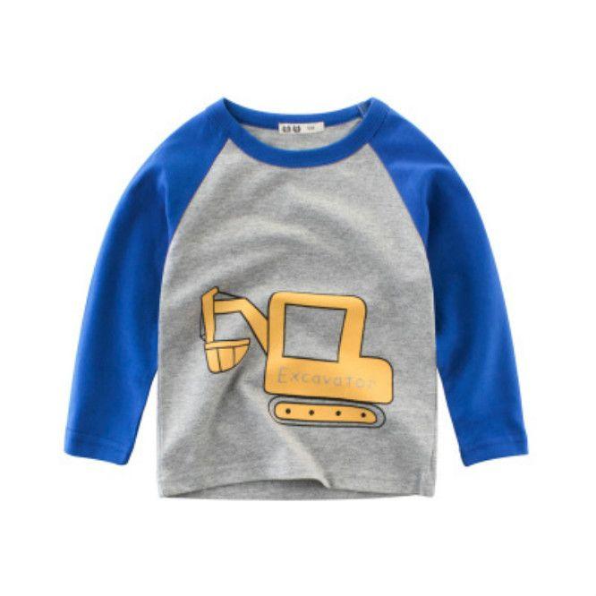 2020 Kids Mode Sweatshirts 2020 Nouvelle Arrivée Garçons Trendy Caricaturer Cartoon motif imprimé Vêtements enfants Nouveaux manches longues Sweatshirts Sweats à capuche