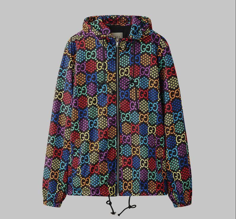 nuevo 0la calidad de la chaqueta de cuero de lujo de la chaqueta con capucha de la moda abrigo de la marca 2020 tendencia al aire libre cortavientos calle de los hombres de los hombres de Dio