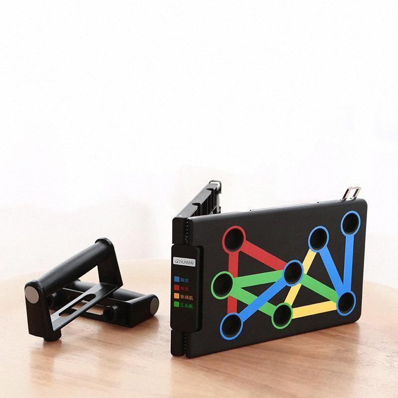 Protable Push-up Support Board Fitnessgeräte für Zuhause und Fitnesstraining Power Press Push Up Ständer d4ok #